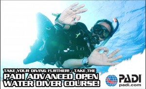 Advanced open water diver på Jæren Dykkersenter