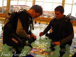 Prøvedykk, dykkerkurs jæren dykkersenter
