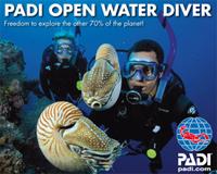 Dykkerkurs - PADI open water diver på Jæren Dykkersenter
