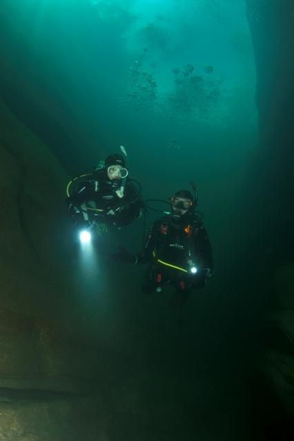 Dypdykking, deep diving jæren dykkersenter