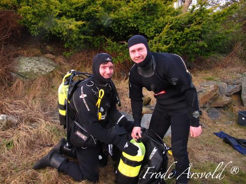 Padi utvidet kurs på Jæren Dykkersenter i Stavanger