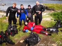 PADI Grunnkurs open water diver