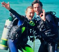 Glade dykkere på Jæren Dykkersenter